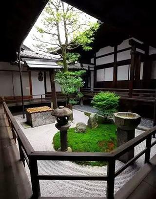 日式风格庭院效果图大全