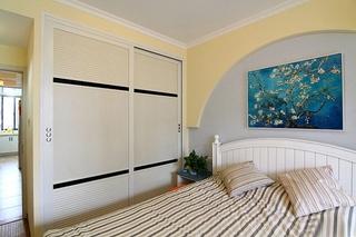 60平小户型装修地中海风格卧室欣赏图