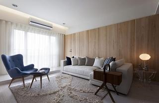 时尚北欧风格装修客厅效果图