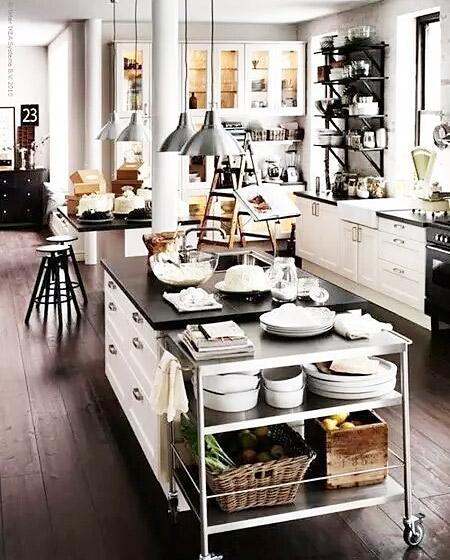 厨房推车收纳设计图