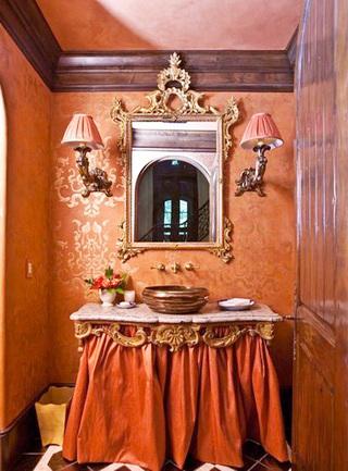 卫生间壁纸参考图片
