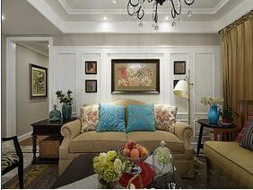 140平美式风格四房两厅装修  大气雅致