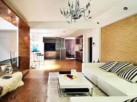 120平现代简约风格三室两厅装修 焕然新生