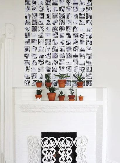 客厅照片墙设计图片大全