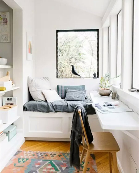 舒适阳台书房装修设计