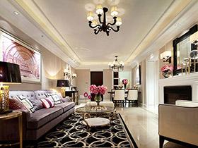 浪漫空间美式装修  这样的家谁都喜欢