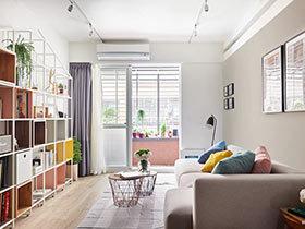 77㎡混搭一居室装修效果图  空灵的心动
