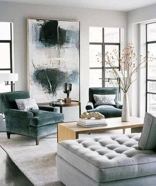 中式客厅装修装饰图片大全