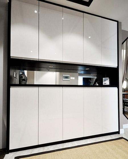 165平中式风格四房玄关柜图片