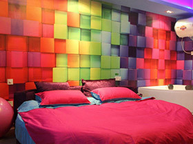 创意主题酒店房间效果图