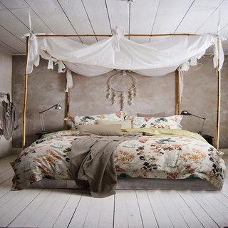 卧室布艺装修装饰图片