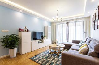 98平宜家风格两居客厅效果图