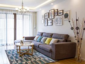 98平北欧宜家风格两室两厅装修 清新自然