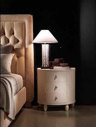 现代感床头柜装修装饰效果图
