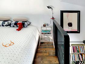 阁楼大变身  11个阁楼卧室装修设计图