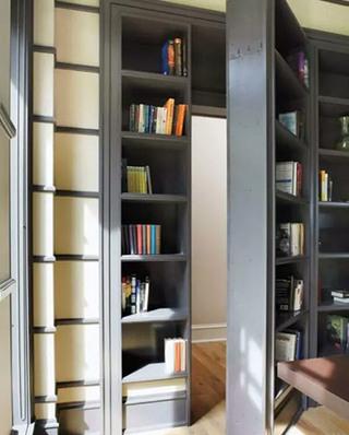 书架隐形门装修设计