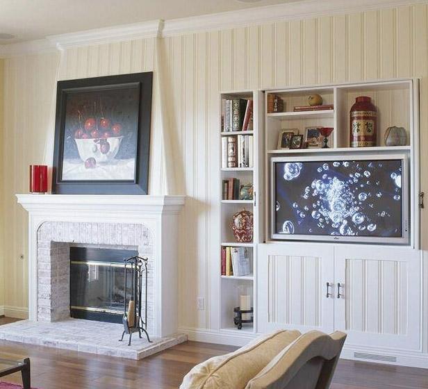 电视背景墙设计背景图