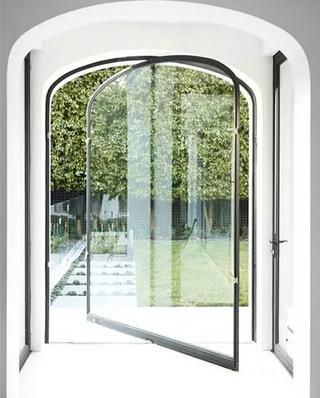 门厅创意装修门效果图