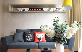 90㎡两室一厅沙发图片