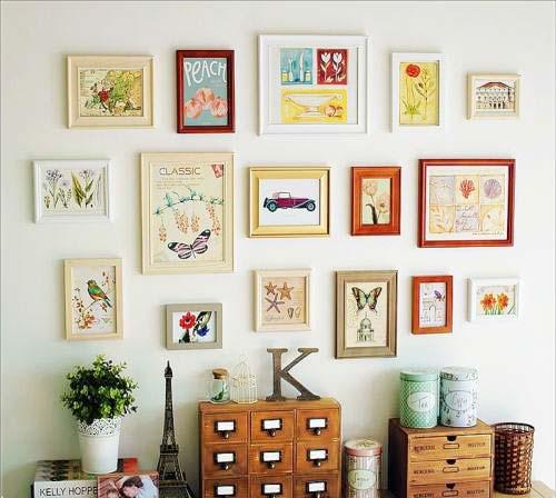 客厅照片墙设计装修效果图