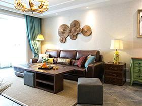130平混搭风格两室两厅装修 生态环保家