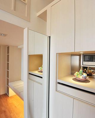40平小户型公寓厨房橱柜图片