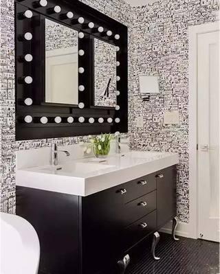 卫生间镜子设计实景图