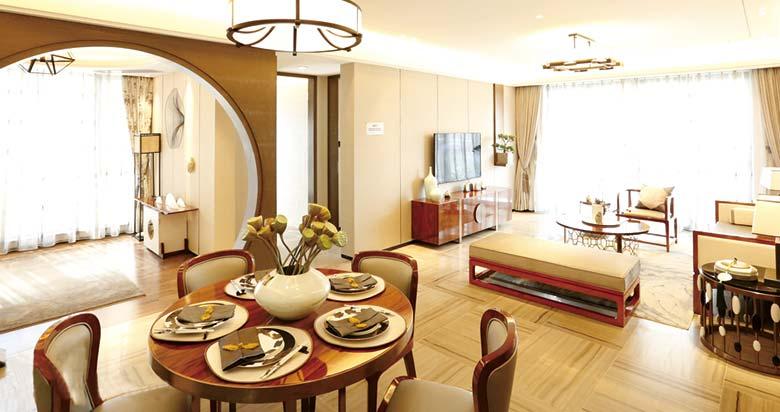 典雅新中式客餐厅装饰大全