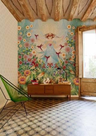 花式壁纸背景墙装修图片