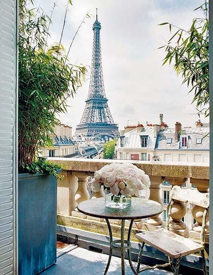 花园阳台布置摆放图片