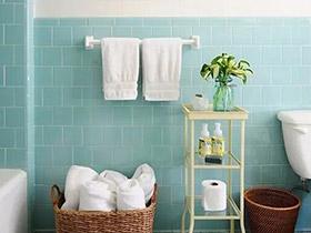 """清新创意浴室效果图 教你大胆玩""""色"""""""