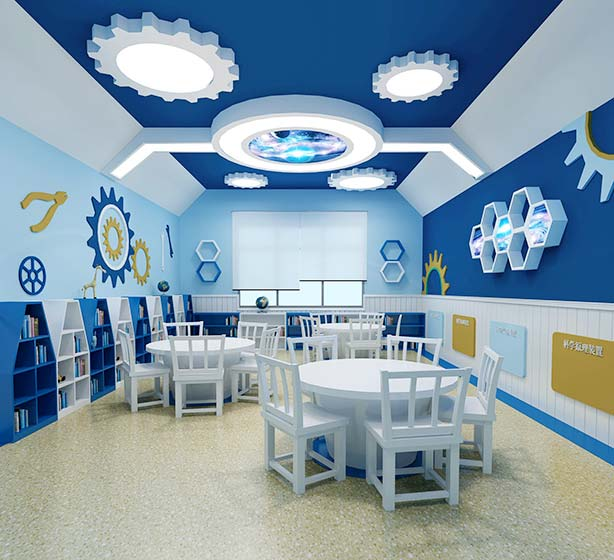 高端幼儿园室内效果图