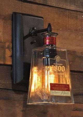 DIY瓶子灯装修装饰效果图