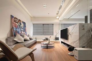 日式风格公寓客厅效果图