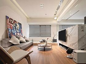 60平日式风格公寓装修图 光影缔造格调