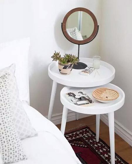 北欧风格卧室床头柜图片