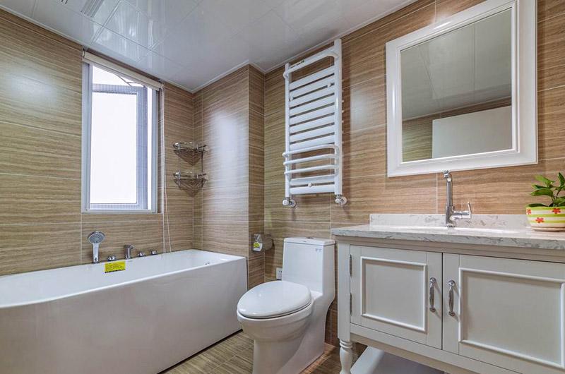 120平北欧三居室卫生间装修图