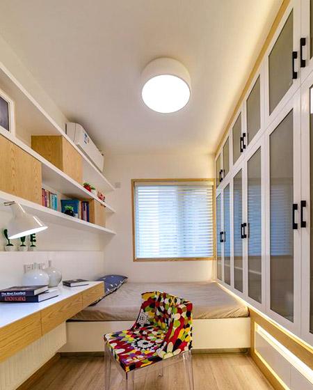 舒适北欧风情 榻榻米儿童房设计图