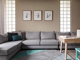 80平简约风格两室一厅装修 轻装修变大宅