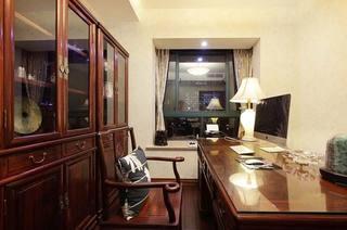 145平米两居室书房效果图