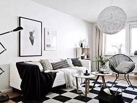84平北欧风格两室两厅装修 小户型新风向