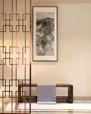 典雅新中式家居 镂空隔断设计