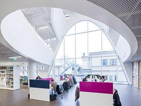 辛基大学现代图书馆装修案例
