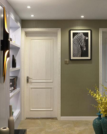 115平美式两居室门厅装修图