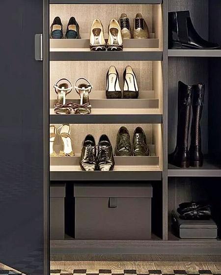 简约玄关鞋柜设计图大全
