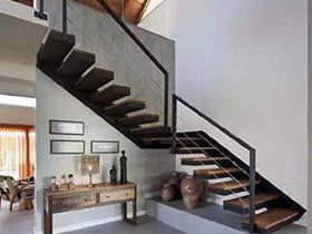 一步接一步  10个复古木楼梯设计实景图