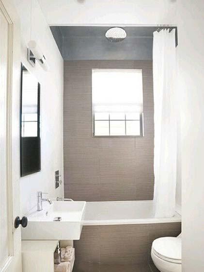 小户型浴室装修装饰图片