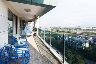 180㎡现代两居室阳台装修装饰效果图