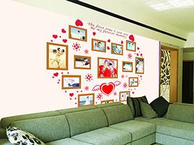 向新家表达爱意  10个沙发背景墙图片