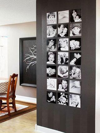 客厅照片墙布置欣赏图